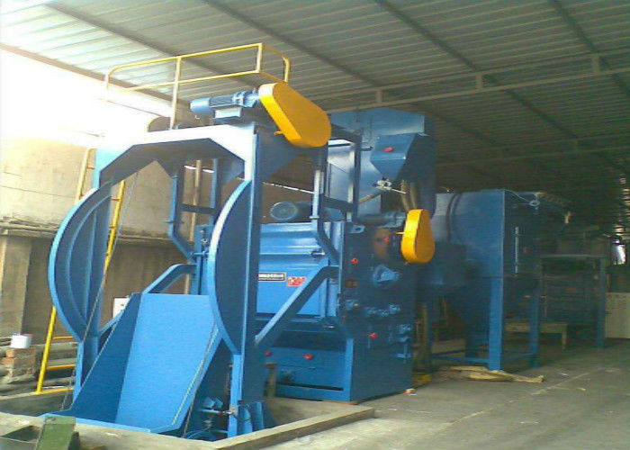 Auto Gear Cleaning Steel Shot Blasting Equipment High Efficiency SA3.0